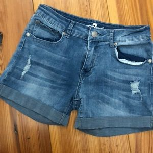 Girls Seven for all Mankind shorts size 14
